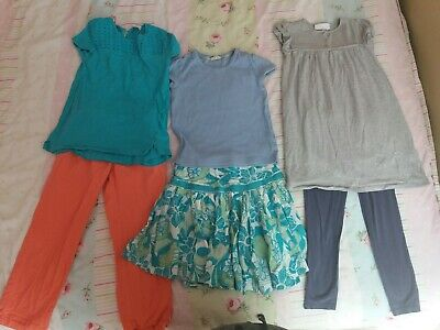 Girls Summer Clothes Bundle Age 6 6-7 Boden Fat Face White Company Monsoon tops