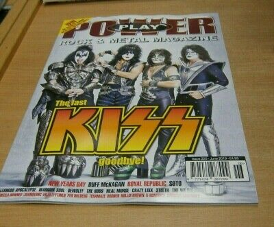 PowerPlay Power Play magazine JUN 2019 Kiss, Duff McKagan, Royal Republic, Soto