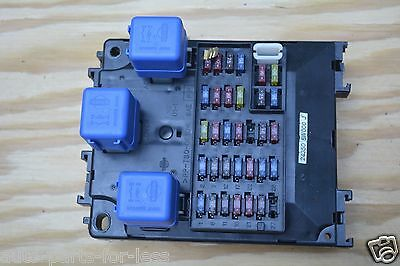 01-03 infiniti qx4 fuse box relay underdash under dash control module unit  oem