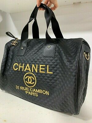 2a1537577c67c6 CHANEL PRECISION VIP Counter Gift Bucket Cosmetic Bag Sequins. NEW ...