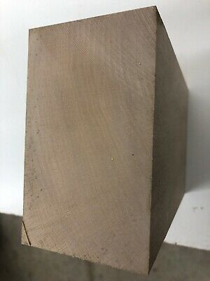"""Basswood Craving Block, 3.035"""" Thick X 5""""+ Wide X 7.75"""" Long"""