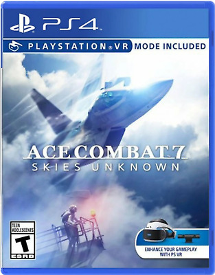 Ace Combat 7: Skies Unknown PS4 (Sony PlayStation 4) - Brand New - Region Free