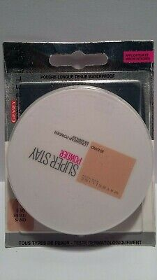 Poudre Superstay 30 Sable Waterproof Gemey Maybelline New York