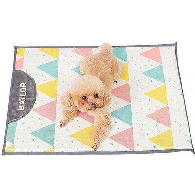 Summer Ice Silk Pet Cooling Mat Soft 27.55*20.86 inch Sleeping Dog Cooling Pad