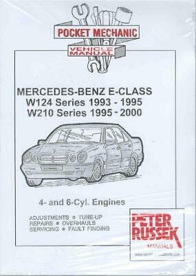 Workshop Manual Mercedes E Class W124 W210 Petrol 1993-2000  Service Repair
