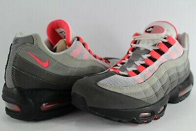 NIKE AIR MAX 95 OG White Solar Red Granite Dust Sizes 8 13