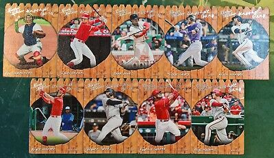 2019 Panini Leather & Lumber Baseball KNOTHOLE GANG Insert Cards (Pick Your Own)
