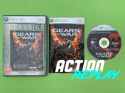 Gears of War Microsoft Xbox 360 PAL Classics + Xbox One Compatible