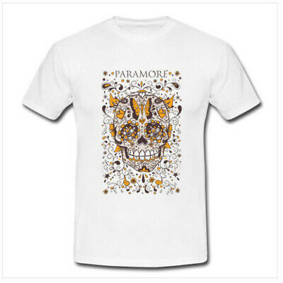 NEW PARAMORE FOSTER The People Tour 2018 White T-Shirt Tee