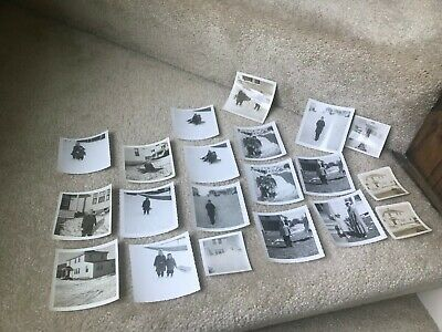 Lot of 20 Vintage Black & White Photos Big Snow 1950s-1960s Kodak Velox