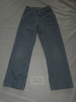 Levis Blue Jeans Size 12 Loose Fit Boys -0212A23