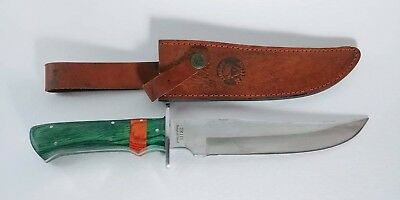 Timber Rattler TR110 Fixed Blade Knife ~ Surgical Steel ~ Survival Hunting ~ EDC