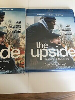 The Upside (Blu-ray+ DVD+Digital Code, 2019) Kevin Hart, Bryan Cranston
