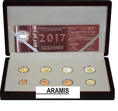 Best price 🅰️ 2017 GREECE 8 EURO coin set 🅰 PROOF 1200 pieces 🅰️ Grecia Grece
