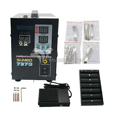 737G 1500W Battery Spot Welding Machine Welder for 18650 Battery Pack SpotWelder