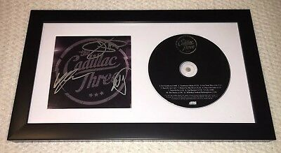 The Cadillac Three Signed Self Titled Cd! *Framed* Band Autographed! Debut Album
