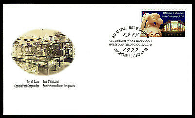 Canada FDC - 1999 - UBC Museum of Anthropology, Scott # 1778