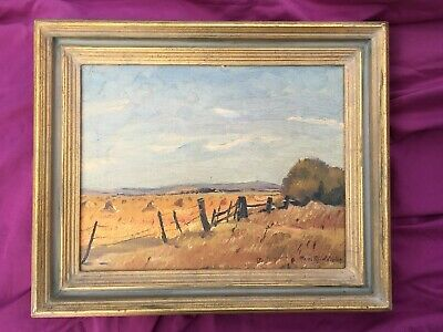 Max Middleton (1922 - 2013) Rural Scene Oil on Canvas Framed