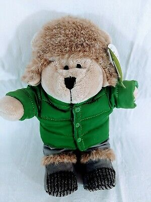 NEW Starbucks 2011 Bearista Bear Plush Doll 104th Edition Puffy Coat Jacket Toy