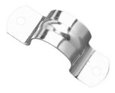 20x Clipsal METAL FULL SADDLES 5mm Hole, Zinc Plated *Aust Brand- 20mm Or 25mm