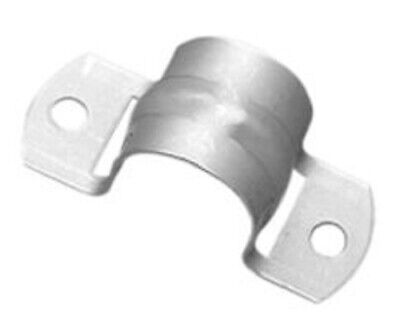 Clipsal METAL FULL SADDLE 6mm Hole, Stainless Steel*Aust Brand-32mm,40mm Or 50mm