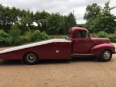 Pick up truck plateau dépanneuse Ford 1940/Ramp truck