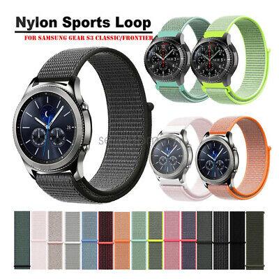 Woven Nylon Sport Loop Watch Band Strap For Samsung Gear S3 Classic / Frontier