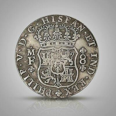 1741 Spanish Philip Silver Dollar Commemorative Coin