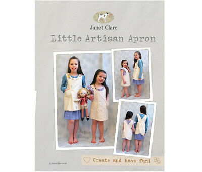 Janet Clare's Little Artisan Apron Sewing Pattern