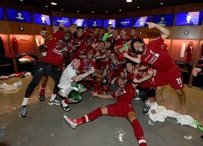 Liverpool Football Club - Champions League winners 2019 photograph 2