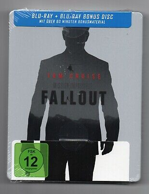Mission: Impossible - Fallout - Blu-ray Steelbook - NEU/OVP