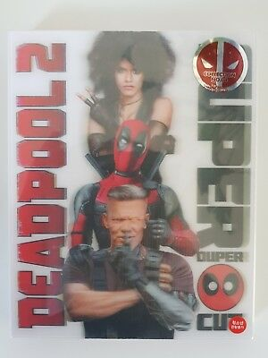 Deadpool 2 LENTICULAIRE Blu-ray Steelbook Weet Collection