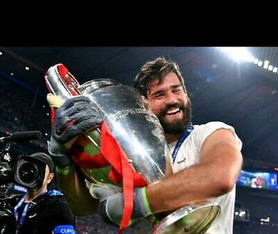 Liverpool Football Club - Champions League winners 2019 ALISSON photograph 9