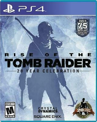Rise of the Tomb Raider: 20 Year Celebration PS4 (Sony PlayStation 4) Brand New