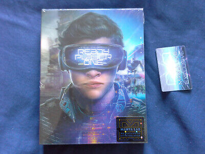 Steelbook Mantalab Lenticulaire - Ready Player One - NEUF avec défaut