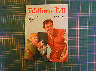 WILLIAM TELL ANNUAL by Terence Walker & G A Embleton 1959