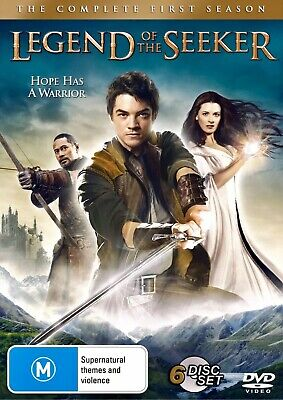 LEGEND OF THE SEEKER Complete First Series 1 Season 1 New Dvd