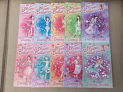 VGC COLLECTION 1-10 MAGIC BALLERINA CHILDRENS PAPERBACK BOOKS by DARCEY BUSSELL