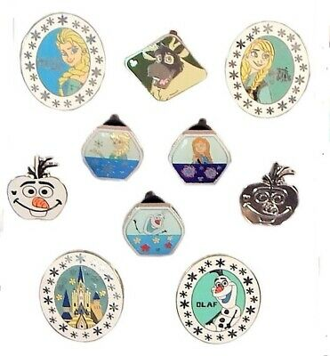 Frozen Themed 5 Disney Park Trading Pins Set ~ Randomly Assorted ~ Brand NEW