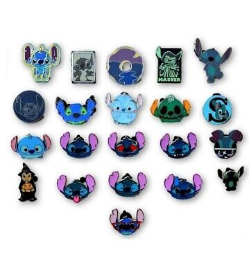 5 Lilo & Stitch Themed Disney Park Trading Pins - Randomly Assorted  - Brand NEW