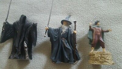 Lord Of The Rings 4 inch mini plastic statues