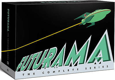 Futurama The Complete Series DVD 27-Disc Set 2013 Billy West Katey Sagal NEW