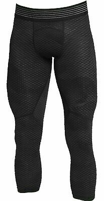 b6d6743cf489f Nike Men's Pro Hypercool 3/4 Compression Tights NEW AT3643-010 Black Size  2XL