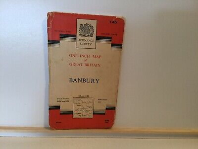 Pre-Owned Vintage Ordnance Survey Map – BANBURY - 1953 - One Inch Map