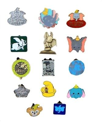 Dumbo Themed 5 Disney Trading Park Pins Set ~ Randomly Assorted ~ Brand NEW