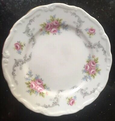 Royal Albert Tranquility Tea Side Cake Plate Wedding Party Seconds 16cm Dia