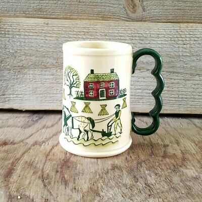 Vintage California Pottery Poppytrail Metlox Homestead Grand Mug 16 Oz Coffee