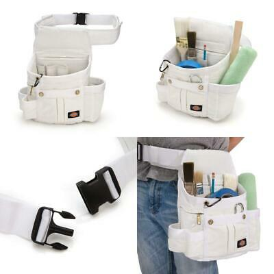 Dickies Work Gear 57053 White Painters 8-Pocket Utility Pouch w// Riveted Corners
