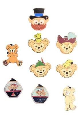 Duffy the Bear 5 Assorted Trading Pins Disney Califonia Adventure ~ Brand NEW