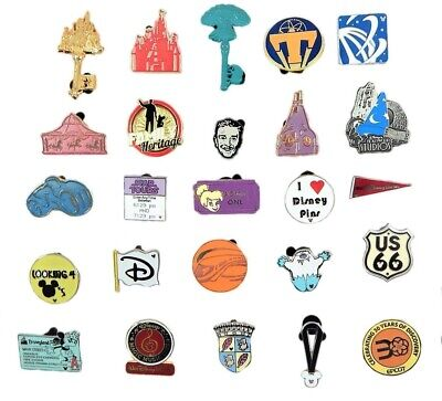 Disney Park 5 Pin Set Walt Disney World Trading ~ Randomly Assorted ~ Brand NEW